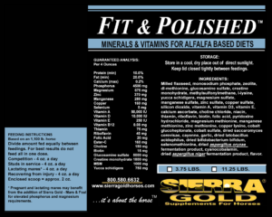 Fit Polished MVA