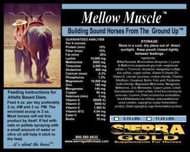 SG Label Mellow Muscle Alfalfa
